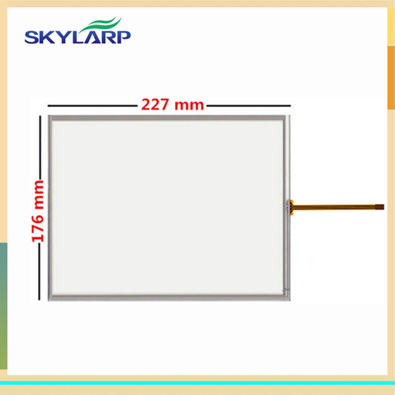 10.4 inch 4 wire 227mm*176mm Resistive Touch Screen Digitizer for MP277-10 TP270-10 LSA40AT9001 / Tsudakoma ZAX-N