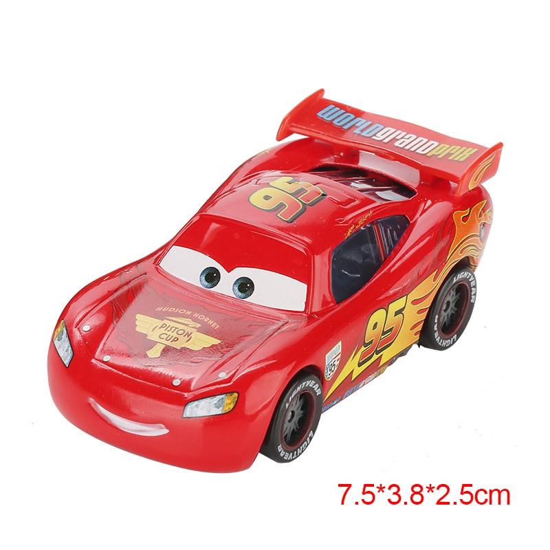 Дисней Pixar Тачки 2 3 Молния Маккуин матер Джексон шторм Рамирез 1:55 литье под давлением автомобиль металлический сплав мальчик малыш игрушки Рождественский подарок - Цвет: McQueen 2.0