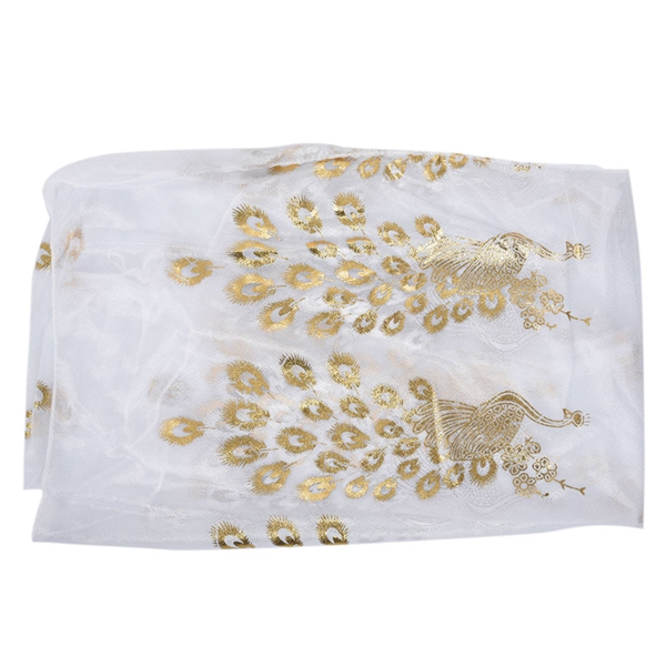 WOMENS LARGE GOLD SPARKLY CRINKLE FASHION SCARF,SHAWL,SHOULDER WRAP,STOLE