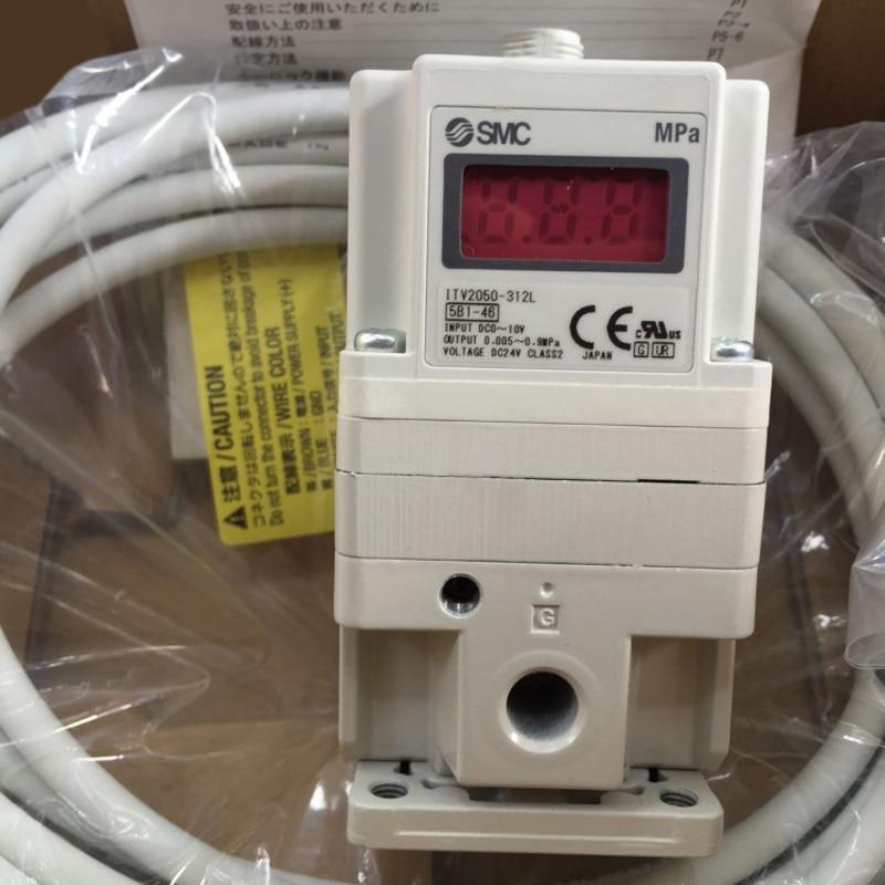 SMC Electronic Vacuum Regulator/ Electro-Pneumatic Regulator ITV2050-312L for Pneumatic Equipment Control Air pressure цена