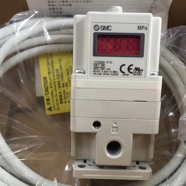 Itv2050-212bl4 | smc rc 1/4 pneumatic regulator, 0. 005 → 0. 9mpa.