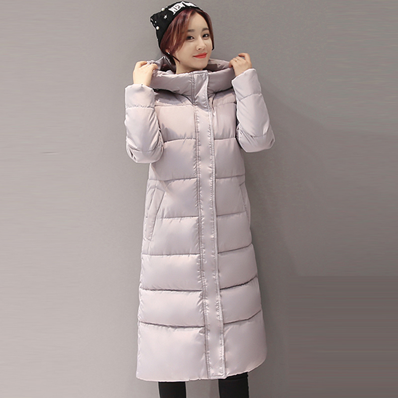 Winter Long Coat Women Slim Fashion Wadded Jackets Outerwear Thicken Parkas With Hooded Fashionable Warm Coat RE0089 luxury fur hooded slim waist long parkas 2015 fashion winter coat women thicken warm wadded outerwear h6030
