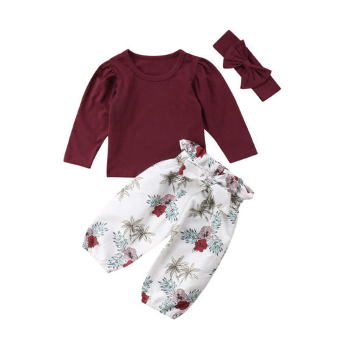 0-24 м новорожденных младенческой малыш для маленьких девочек одежда Повседневное хлопка с длинным рукавом рубашка с круглым вырезом Топ Цве...