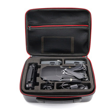 TELESIN Waterproof Carrying Case Portable PU Carry Hard Case Suitcase Travel Storage Handbag for DJI Mavic Pro Drone(China)