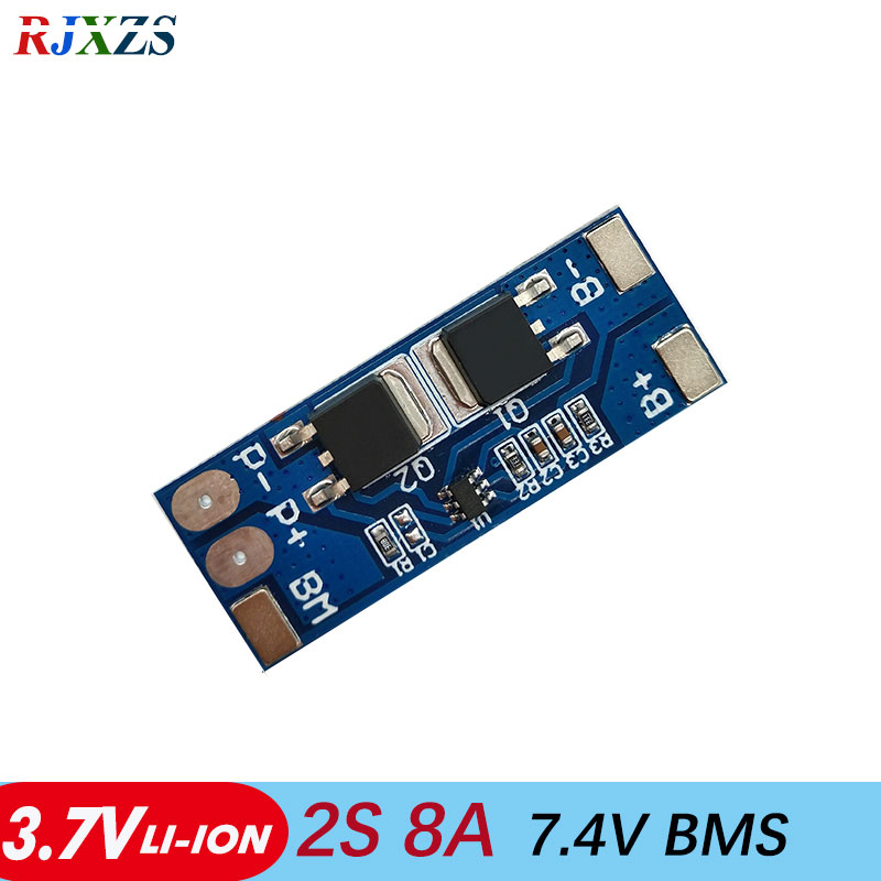 2S 8A 7.4V 8.4V Lithium LiPo Cell Li-ion BMS Battery 18650 Protection Gifts