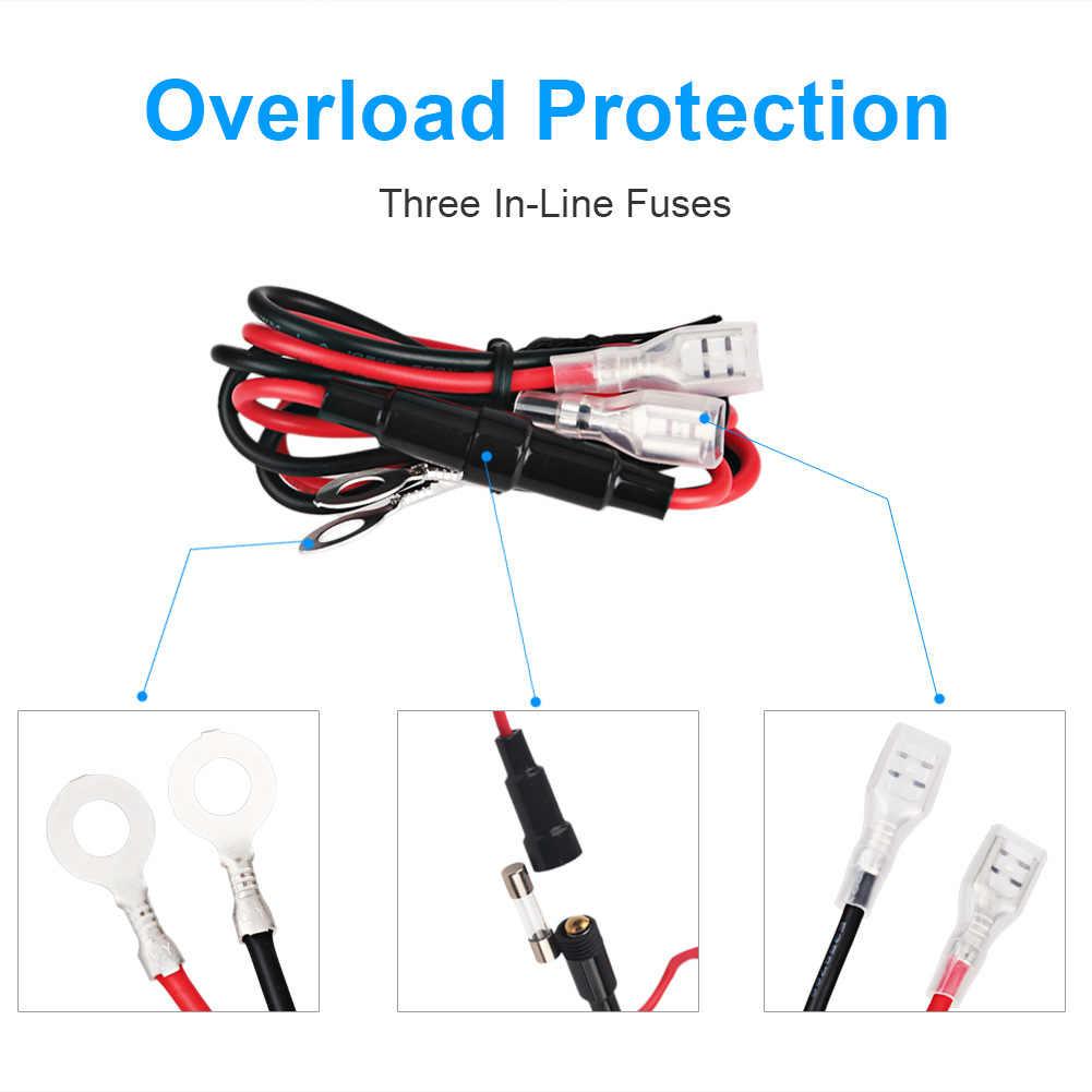 3.1A Dual Dual USB Socket Charger 12V LED Voltmeter Cigarette Lighter Splitter ON-OFF Toggle Switch Panel for Car Boat Marine