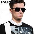 Parzin Óculos De Sol Masculino Óculos de Sol Dos Homens Polarizados UV Shades Pesca Condução Óculos Oculos de sol Masculino Com Caso 8001