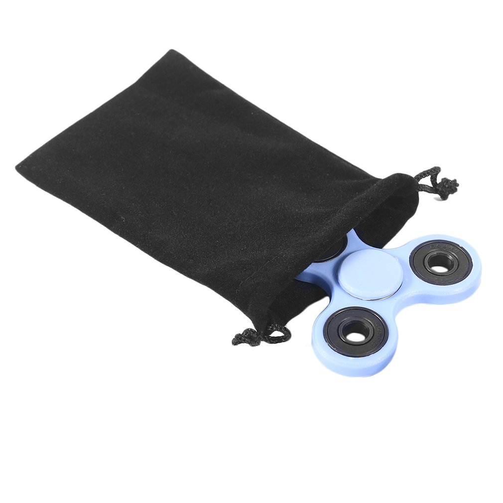 Black Universal Fingertip Spinner Toys Storage Bag Package Bags Pocket Bag Simple Design Hand Spinner Storage Bags Clearance