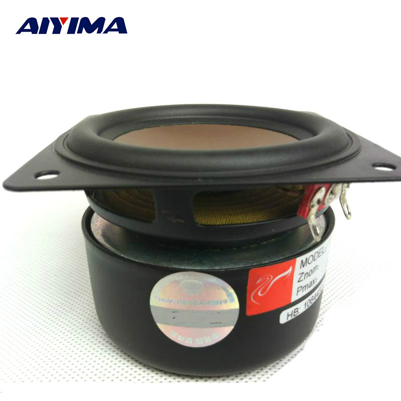 AIYIMA 3inch 8ohm 30W Full Range Speaker HIFI Home Theater Audio Speaker Unit Enthusiast DIY Stereo Loudspeakers Accessories new model audio labs top end 4 full range speaker unit sets aluminum bullet 2 layer paper cone for diy home theater