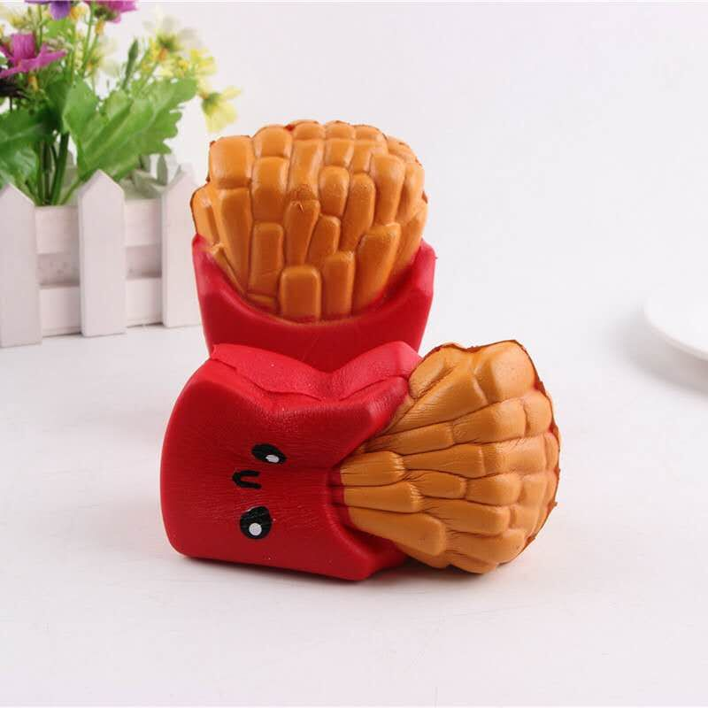 Slow Rising Kawaii French Fries Squishy Cute and Squishy