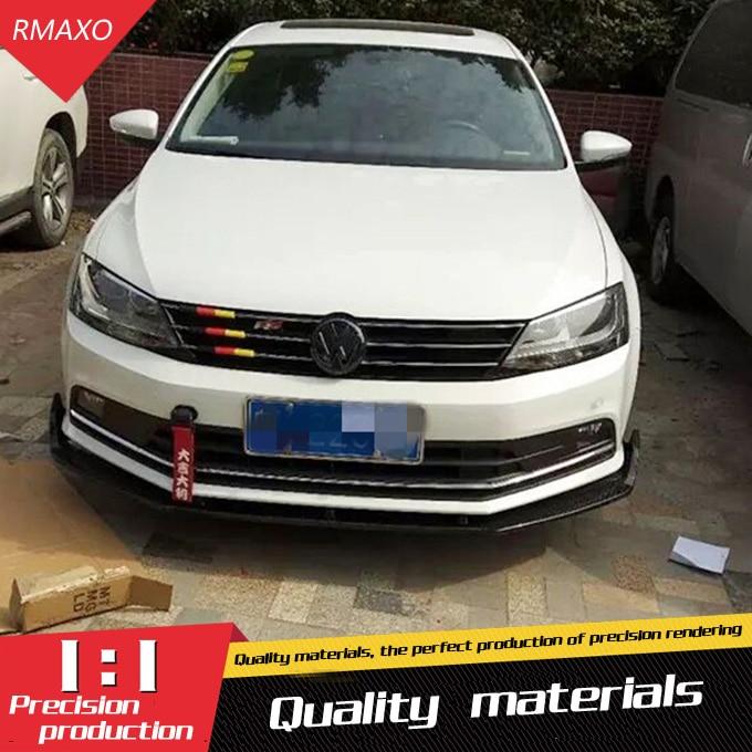 For Je tta Body kit spoiler 2015 2018 For Volkswagen Sagitar ABS Rear lip rear spoiler