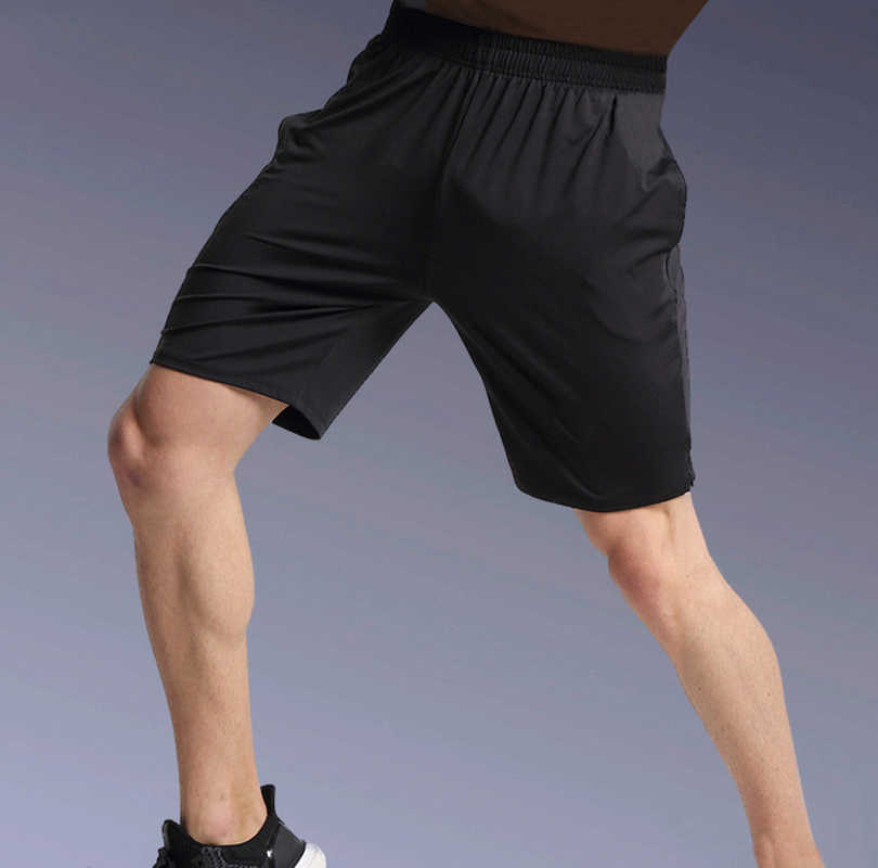 Running Shorts Mens Gym Shorts Workout Fitness Half-Trousers Jogger Trousers Active Training Shorts Basketball Sports Trunks Man