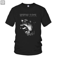 METALLICA SCREAM Heavy Metall Rock And Roll Music Band T Shirt Tee Tshirts Male Female Top