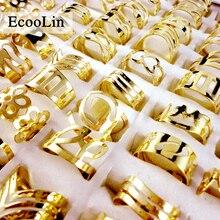 50pcs Mix Style Zinc Alloy Band Finger Tattoo Ring Toe Rings For Women Men Wholesale Jewelry Ring Bulks Lots LB129