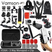 Vamson For Gopro Accessories Kit For Xiaomi For Yi 4k For Gopro Hero 5 4 3