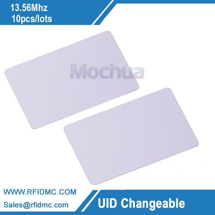 <font><b>UID</b></font> Changeable IC Card 1k 13.56MHz with writable 0 sector 0 block HF <font><b>ISO14443A</b></font> image