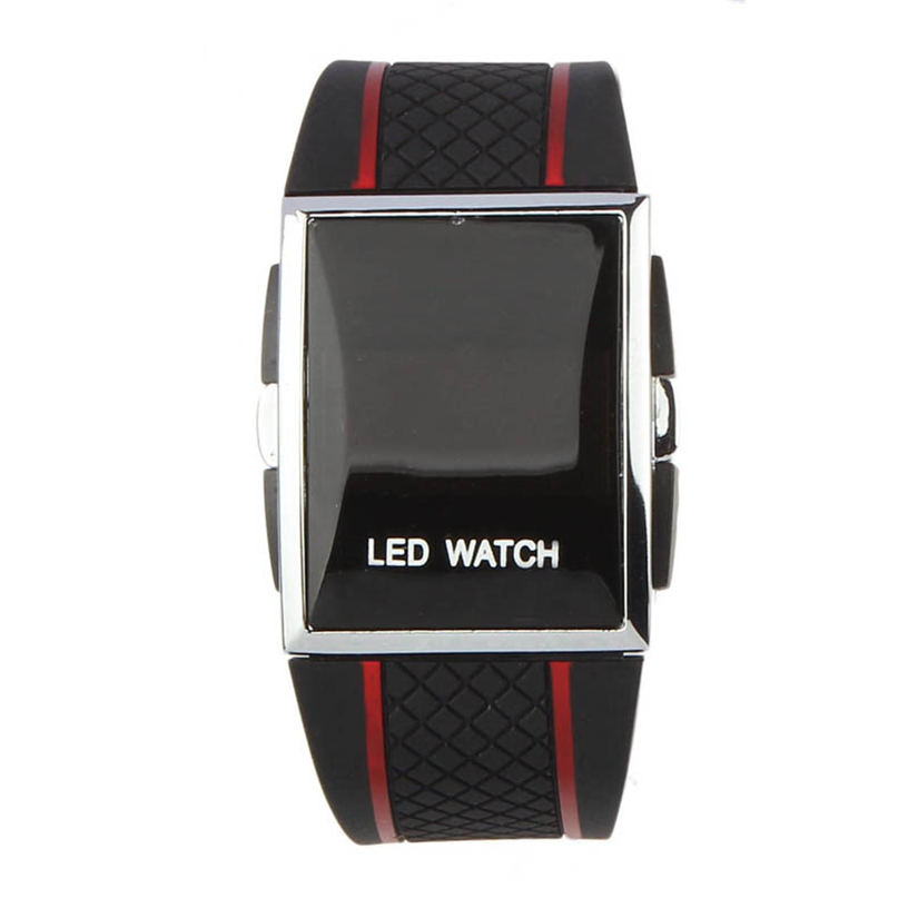 Men Watch Women Reloj Montre Femme Naviforce High Quality Boy Men Stylish LED Digital Date Silicone Band Sports Wrist Watch 4*