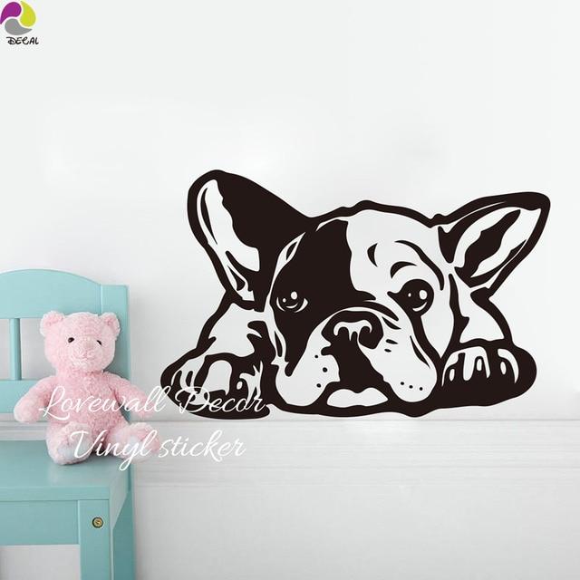 Dessin anim bouledogue fran ais siesta chien mur - Bulldog dessin anime ...
