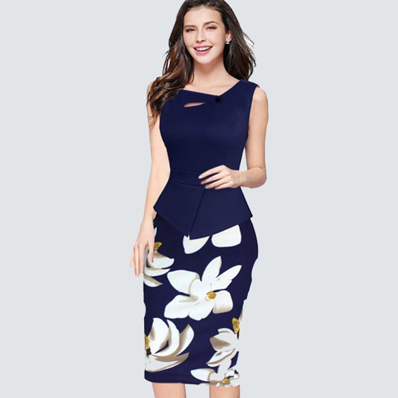 Plus veličina Novi Dolazak Ljeto Bez rukava Cvjetni Print Povremni - Ženska odjeća - Foto 2