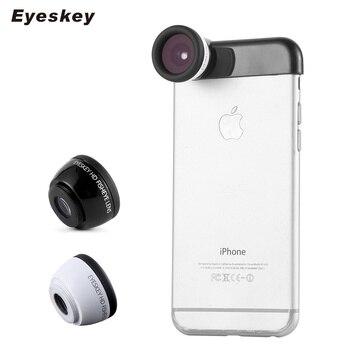 Eyeskey Fish-eye Lens 0.45x Super Wide Angle & 11.5x Super Macro Lens HD Camera Lentes