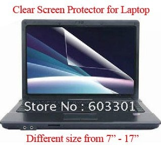 14 Clear screen protector for laptop screen guard OPP bag packing 50pcs lot free shipping