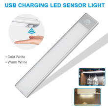 Newest Portable Under Cabinet Lights Intelligent  LED Motion Sensor Closet Stick-on Wireless Night Lamp Bar