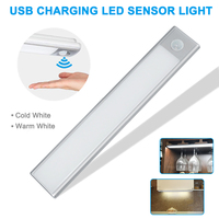 Newest Portable Under Cabinet Lights LED Motion Sensor Closet Lights Stick on Wireless LED Light Bar