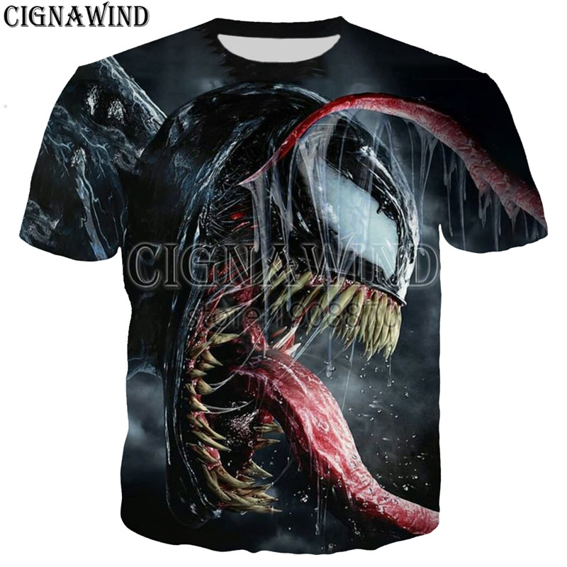 HTB1pE0eXiDxK1RjSsD4q6z1DFXaX - New arrive popular marvel movie venom t shirt men women 3D print fashion short sleeve tshirt streetwear casual summer tops