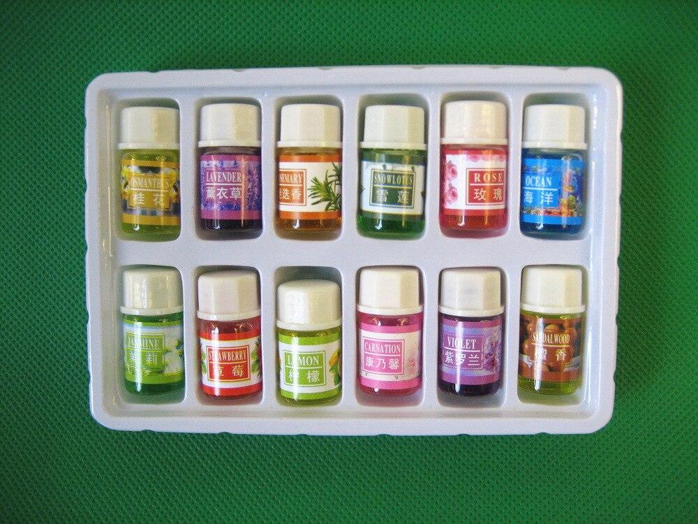 Essential Масла обновления для DIY ароматерапия увлажнитель аромат гидромассажная Ванна Массаж Уход за кожей масло лаванды с 12 видов аромат