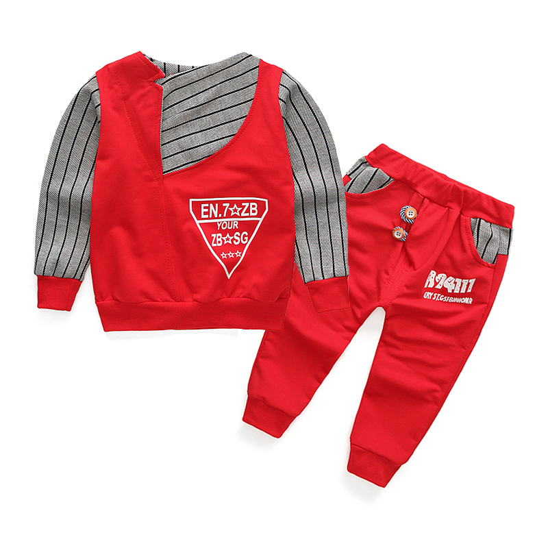 2016 New Boy Clothes Fashion Baby Boy Clothing Sets Kid Full Clothes Pants Suit for Children Boys Kid Clothes Kids Trousers boys trackpants kids winter pants children trousers full length boy harem pants children clothing brand boys clothes