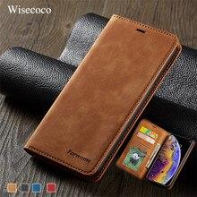 Роскошный кожаный магнитный флип-чехол для IPhone Xs Xr X 11 pro Max, кошелек, держатель для карт, Обложка для IPhone 8, 7, 6, 6s Plus, 5, 5S, etui