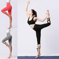 Women Leggings Bandage Yoga Pants Solid Gym Pants Running Jogging Gym Leggings Workout Clothing Leggings For Women