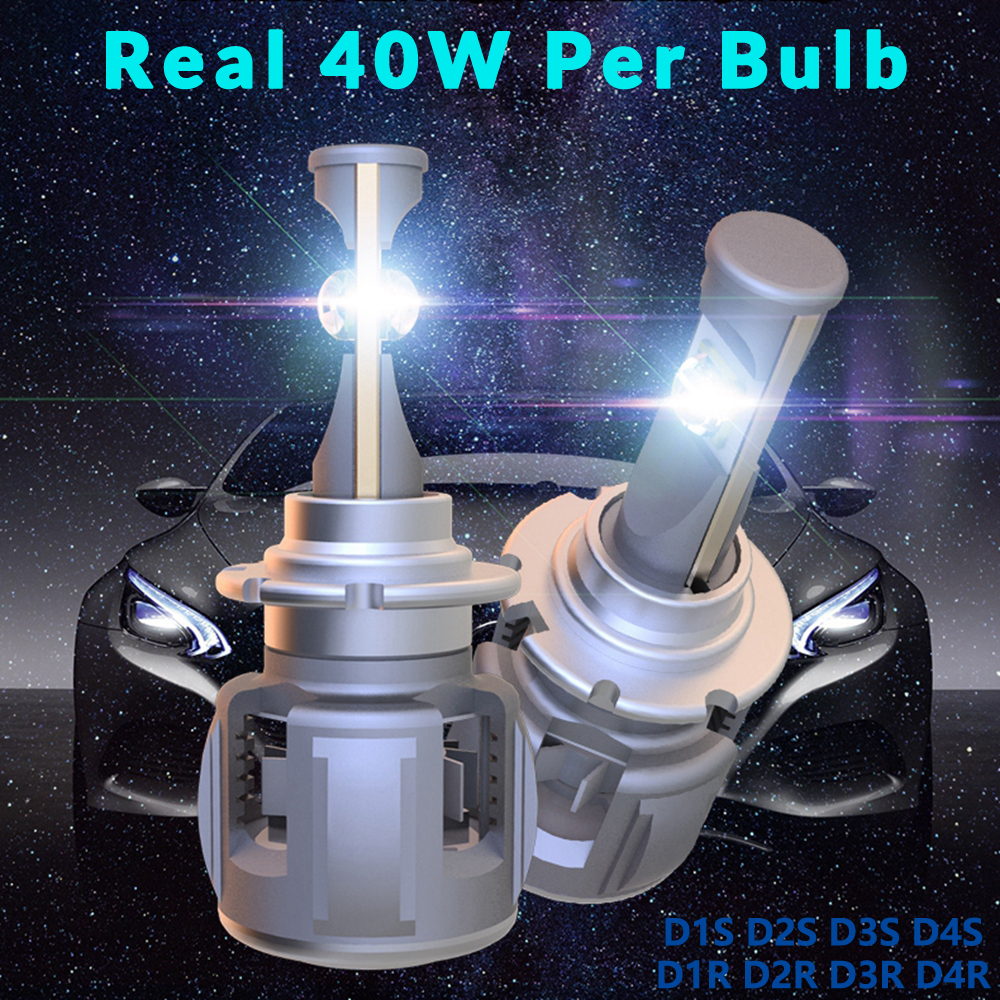 XHP70 D2S светодио дный лампы D1S лампы D3S 6000 К D4S 15600LM авто лампы автомобильные свет D1R D2R D3R D4R H4 H7 H11 9005 9006