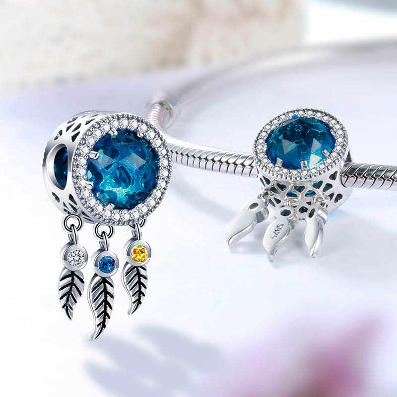 SG wholesale christmas pandora charms cubic zirconia beads women accessories silver 925 original for fashion jewelry making 2019