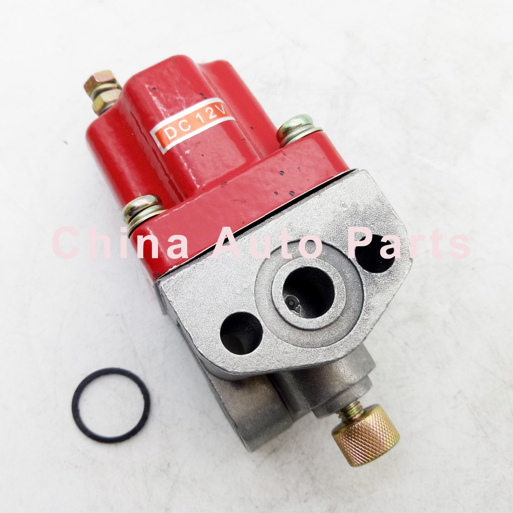 US $36 0 |Fuel Shut Off Solenoid 3018453 For CUMINS NT855 Engine 12V-in  Valves & Parts from Automobiles & Motorcycles on Aliexpress com | Alibaba