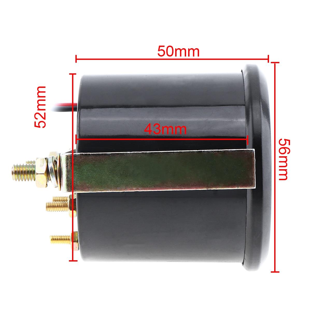 6035BL 2 quot 52mm Blue LED 12V 50 150 Celsius Degree Oil Temperature Meter Gauge with Sensor for Car Boat Truck ATV in Oil Pressure Gauges from Automobiles amp Motorcycles