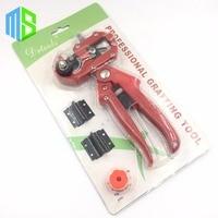 Red Set Garden Fruit Tree Pro Pruning Shears Scissor Grafting Cutting Tool 2 Blade Garden Tools