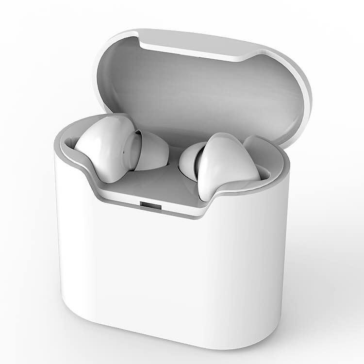 WALLYTECH Ture Wireless in-ear TWS Earphone Bluetooth Headset Ear Buds Hands-free with Mic for iphone xiaomi huawei sabbat mini tws v5 0 bluetooth earphone sport waterproof true wireless earbuds stereo in ear bluetooth wireless ear buds headset