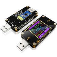 USB color tester DC Digital voltmeter amperimetro current voltage meter volt amp ammeter detector power bank charger indicator