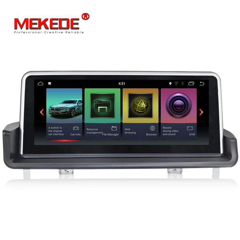 ID7 IPS Grand écran 10.25 Android 7.1 voiture lecteur dvd gps navigation pour BMW 3 Série E90/E91 /E92/E93 avec vidéo/radio/wifi/USB
