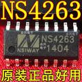 Бесплатная доставка 10 шт./лот NS4263 SMT SOP 3 Вт двухканальный класса AB/Класса D switng аудио усилитель новый оригинальный