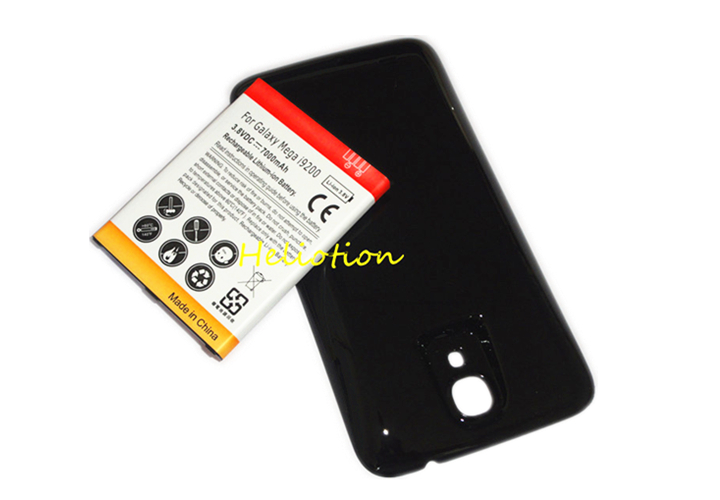 Mega 6.3 i9200 Battery 7000mAh + Black Cover Case for Samsung Galaxy Mega 6.3 i9200 B700BC High quality Extended BatteryMega 6.3 i9200 Battery 7000mAh + Black Cover Case for Samsung Galaxy Mega 6.3 i9200 B700BC High quality Extended Battery