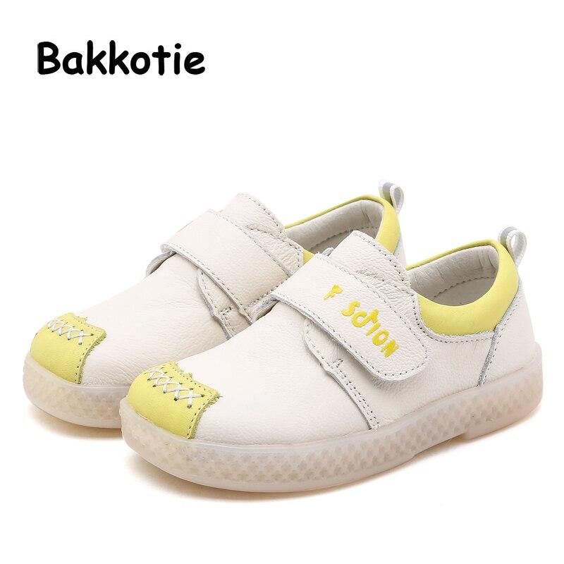 2928de0ea Bakkotie новая весенняя обувь для девочек Черная Брендовая детская  спортивная обувь для маленьких мальчиков обувь из
