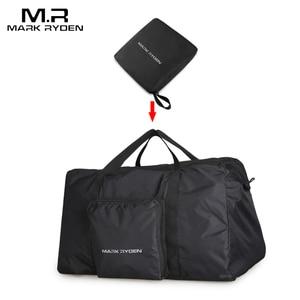 Image 5 - Mark Ryden Fashion WaterProof Travel Bag Large Capacity Bag Men Nylon Folding Bag Unisex Luggage Travel Handbags