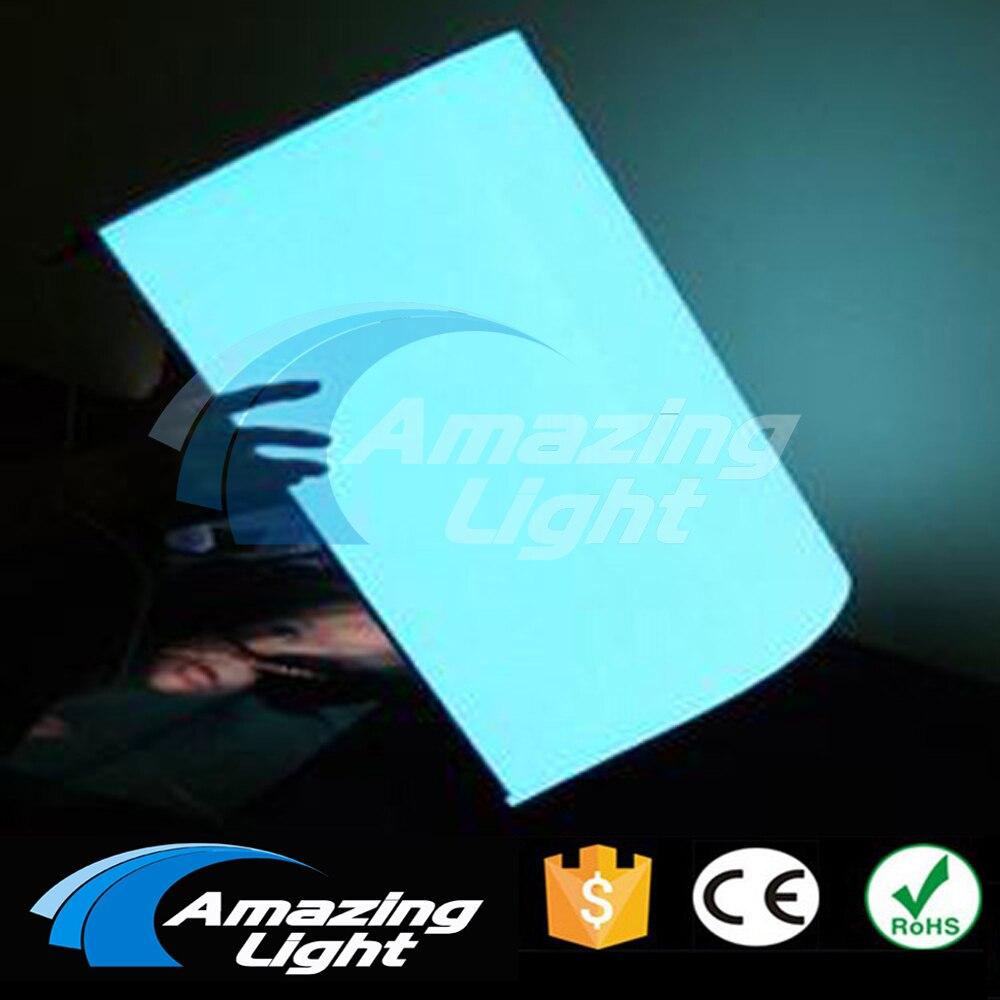Super luminosité A3 (420*297mm) EL rétro-éclairage el panneau rétro-éclairage EL feuille LCD affichage livraison gratuite