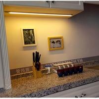 Tanbaby Lighting Bulbs & Tubes DC12V LED Cabinet Light SMD2835 LED Bar Light For Kitchen/Cabinet Tube Light RF Remote Control