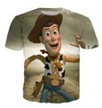 Walking Toys Toy Story Sherif Woody Character Crewneck T-Shirt Women Men Cartoon Fashion Clothing Summer Style t shirt tees Tops