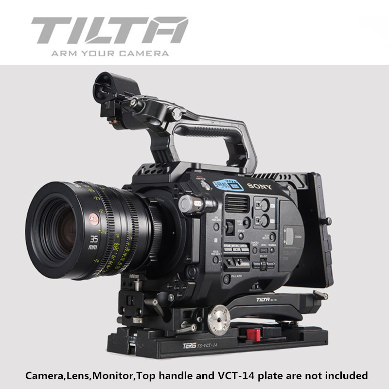 Tilta 15mm FS7 RIG ES-T15 Quick Release Baseplate Cage Bracket Kit For SONY PXW-FS7 4K Camera
