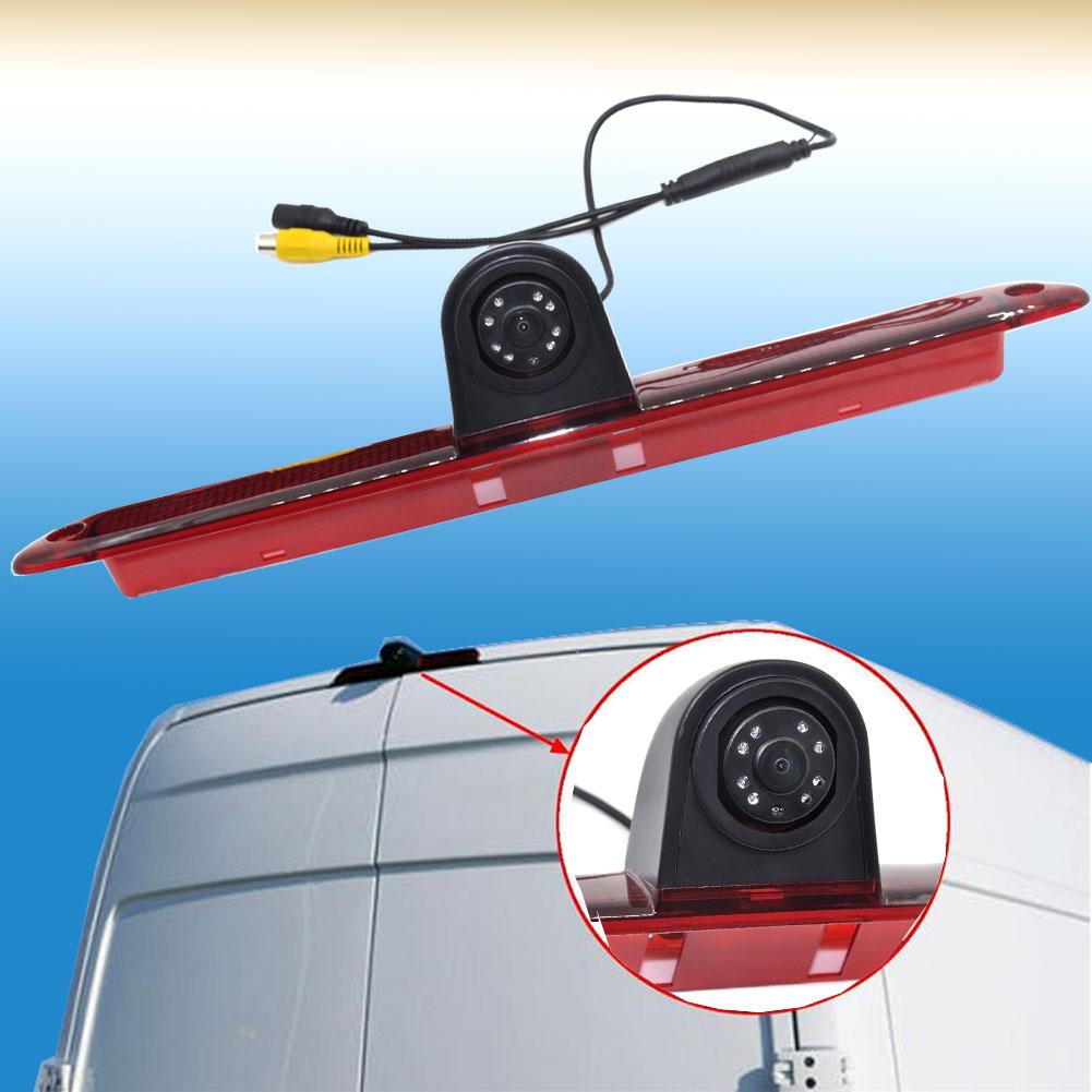 Auto Wayfeng WF Nouvelle Recul CCD Caméra Arrière LED Lumière De Frein Pour Mercedes/Sprinter/VW/Crafter
