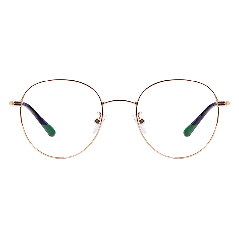 Image 3 - Men and Women Metal Small Vintage Prescription Eyewear Frame Black Round Glasses For Multifocal Myopia Reading Lenses-in Men's Eyewear Frames from Apparel Accessories